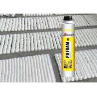 Winter Type PU Foam Sealant Spray 15 Centigrade Ambient Temperature Heat / Cold Resistant Manufactures