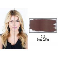 Dark Coffee Safe Professional Tattoo Ink For Eyebrow Tattoo Free Of Acrylic Manufactures