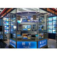 Single Sided Advertising Crystal Led Light Box Display Magnetic With Acrylic Frame Manufactures
