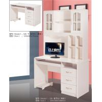 China Students MDF Computer Desk Sturdy Construction Space Saving Easy To Store on sale