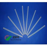 China Light White Transparent Hot Melt Adhesive Stick  , Solid High Strength Hot Glue Gun Sticks on sale
