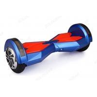 8 Colorful Cool Smart Self Balancing Hoverboard With Bluetooth For Music Play Manufactures