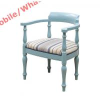 Quality Leisure fabric Lounge chair and Ottoman set in Mediterranean Style Furniture for sale