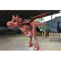 China 4 Metters Flying Custom Western Dragon Costume To Perform In the European Market on sale