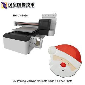 UV Printing Machine for Santa Smile Tin Face Photo 60X90CM Manufactures