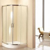 New Quadrant Shower Enclosure, 6mm Corner Glass, 800 x 800 with Free Tray/Waste Cubicle Bathroom Bat Manufactures