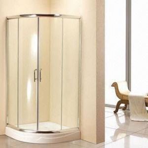 China New Quadrant Shower Enclosure, 6mm Corner Glass, 800 x 800 with Free Tray/Waste Cubicle Bathroom Bat on sale