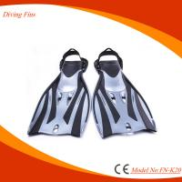 Children's Diving Swim Fins With Adjustable Strap Customized Logo Acceptable Manufactures