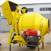 China ISO approved good performance China 350l diesel engine cement mixer/portable on sale