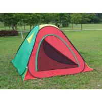 Quality All season outdoor 3- 4 people Waterproof Camping Tent in Red for sale