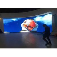 Video Wall Indoor Fixed LED Display / P4 Advertising LED Screen 62500 dot/㎡ Manufactures