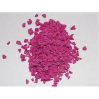 Heat Resistant Coloured Rubber Crumb No Dust TPV Granules For Running Track Manufactures
