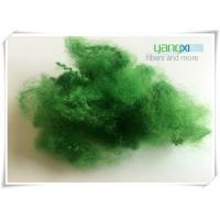 Quality 100% Polyester Staple Fiber / Green Recycled Polyester Fiber For Spinning for sale
