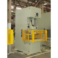 Hydraulic Press C Frame Mechanical Punching Machine Fixed Bed PLC Control Manufactures
