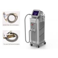 China Vertical 2 In 1 IPL Laser Machine Diode Hair ND Yag Tattoo Removal Laser Machine on sale
