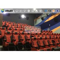 Scientific 4D Cinema Equipment With Metal Screen , Good After Sale Service Manufactures