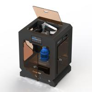 Mini CreatBot Digital 3d Printer Automatic PEEK 3d Printer Single Color Manufactures