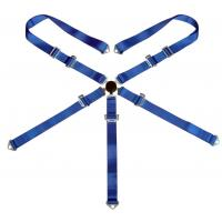 """3"""" 5 Point Racing Safety Belts With Polyester Webbing + Steel Buckle Manufactures"""
