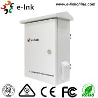 China Intelligent Cctv Camera Video Converter Transmission / Power Cabinet Cold Rolling Plate Material on sale