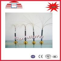 PVC Sheathed Outdoor Armored Fiber Optic Cable Wire For Telecommunication Manufactures