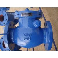 ISO & PED certificate OEM cast iron / ductile iron body BS swing check valve Manufactures