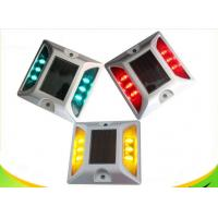IP68 Full Color Solar LED Road Stud With Rechargeable Ni - MH Battery Manufactures