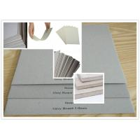 Recycled Pulp Uncoated Laminated Grey Chipboard 700gsm - 1800gsm 1.5mm Thick Paper Manufactures