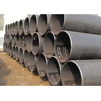 Spiral Welded Schedule 40 Carbon Erw Steel Pipe Round Shape 3 - 50 Mm Thickness Manufactures