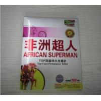 China African Superman Hot Selling Permanence Male Enhancement Pill Working 180 Hours Sex Enhancer for Men's Penis Erection on sale