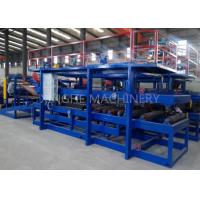 PPGI Coil Steel Roll Forming Machine , Electrical Roof Tile Roll Forming Machine Manufactures