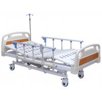 Professional Electric Hospital Bed With Rails 4 Inch Wheels 5 Functions Adjustable Manufactures