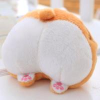 Soft plush custom plush toys mini wallet coin bag for sale