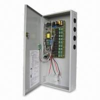 220V AC to 12V DC/18-channel 10A CCTV Power Supply Unit with Battery Backup Connection Manufactures