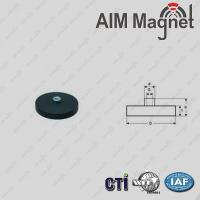 Neodymium Rubber coated magnets Manufactures
