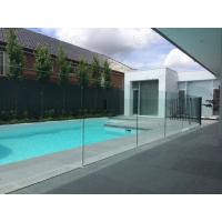 12mm toughened glass balustrading glass pool fencing approved by AS/NZS 2208 Manufactures