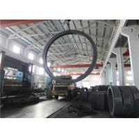 Max OD 5000mm A350 LF3 LF6 Carbon Steel Forging Rings Rough Machined Q+T Heat Treatment Manufactures