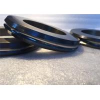 China Grooved Ground Yg15 Black Tungsten Carbide Rings 3 Dimensional For Rolling Bar on sale