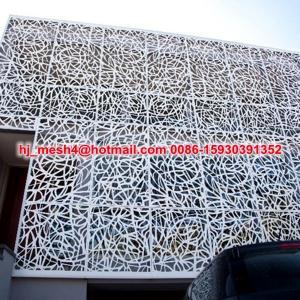 laser cut aluminium wall cladding Manufactures