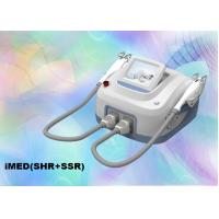 China 810 Nm Diode Laser Hair Removal Cosmetic Laser Equipment SHR E Light Permanent on sale