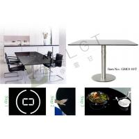 Home & Restaurant Dining Table-Smart and built-in induction cooker dining table