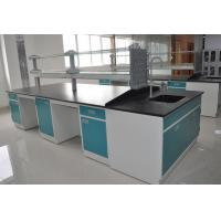 Cold Rolled Steel Lab Casework Workbench Furniture With Reagent Shelf Manufactures