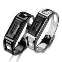 Bluetooth Bracelet Watch with Screen Calling ID Displayer Distance Vibration BW04 Manufactures