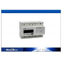 LCD Display Multi-Rate Watt-Hour Meter DIN Rail Three Phase Electronic Manufactures