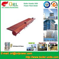 Electrical CFB Boiler Header / Water Header With Natural Circulation Manufactures