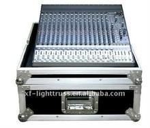 Aluminum Flight Case With Wheels / Handles Plastic 2U to 24U Rack Case Manufactures