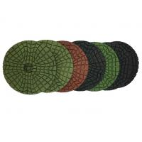 China 4 Flexible Diamond Polishing Pads For Stone With Aggressive Speed on sale