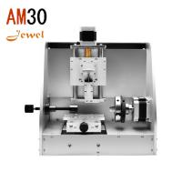 am30 small portable cnc jewelery engraving machine wedding ring engraver bracelet nameplate engraving router for sale Manufactures