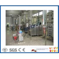 Drinking Yoghurt Production Industrial Yogurt Maker With SUS304 / SUS316 Material Manufactures