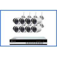 8 Ch Wireless CCTV Camera Kits Megapixel Waterproof IP 720P / 960P / 1080P Manufactures