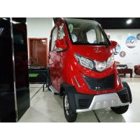 China Red Front Disc / Rear Drum Electric Passenger Car With Four Wheels wholesale